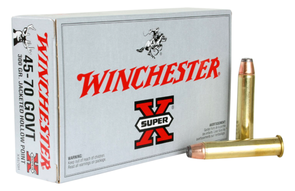 45/70 Government Light Recoil 300gr. JHP 250rds